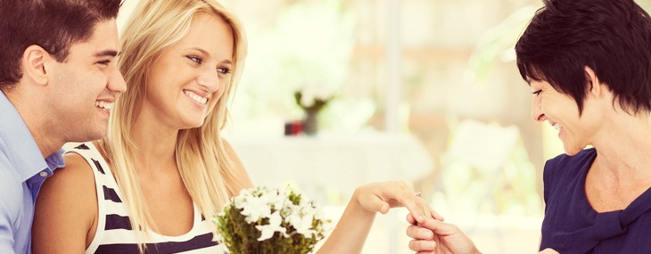 Begin the best daughter-in-law relationship during the engagement